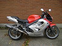 2000 Triumph TT600 For Sale As Is $1300