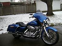 2008 Harley Street Glide For Sale $14999